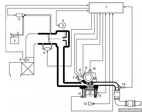 Diagram Of 2 4 Liter Pontiac Engine