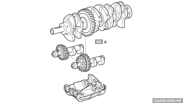 части двигателя.