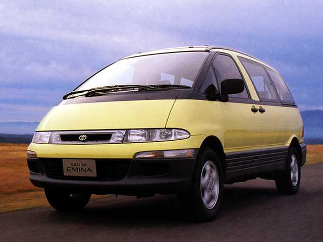 Estima on 1991 Toyota Tercel